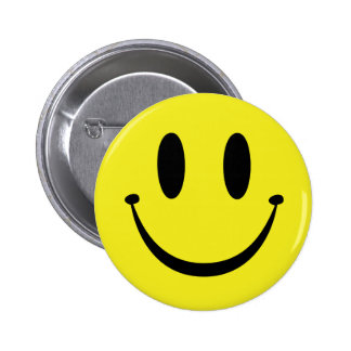 Customize your Happy Face 2 Inch Round Button