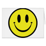 Customize your Happy Face Greeting Card