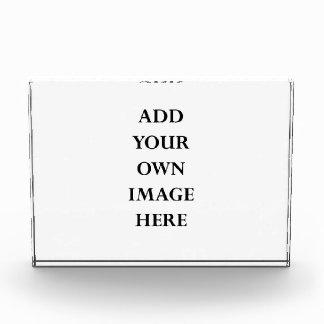 customize your horizontal acrylic block award