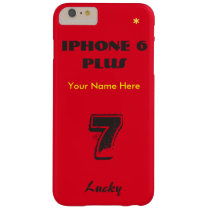 Customize your IPhone 6 & 5 cases with your name iPhone 6 Plus Case