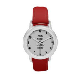 customize your large numerals watch portrait