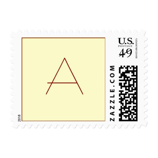 Customize Your Monogram Postage