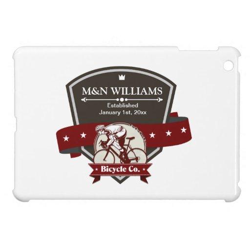 Customize Your Name Bicycle Company Logo iPad Mini Case