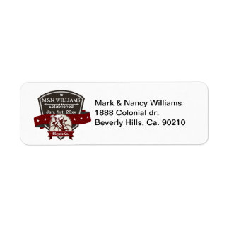 Customize Your Name Bicycle Company Logo Custom Return Address Labels