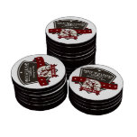 Customize Your Name Bicycle Company Logo Poker Chip Set