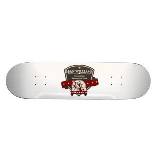 Customize Your Name Bicycle Company Logo Skateboard Deck