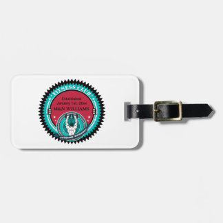 Customize Your Name Extreme Workout Logo Luggage Tag