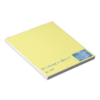 Customize Your Notepad