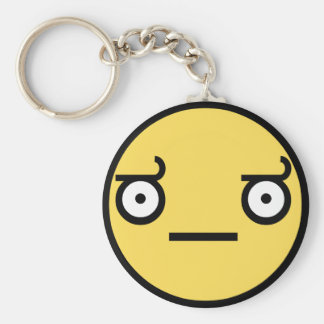 Customize Your Own: Awesome Concern Smiley Face Keychain