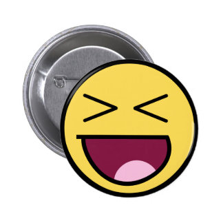Customize Your Own: Awesome Laugh Smiley Face Buttons