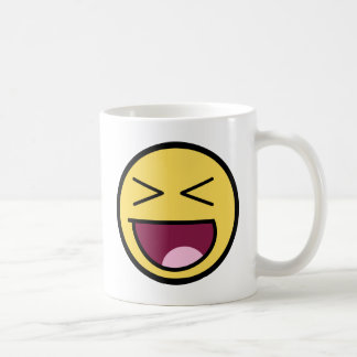 Customize Your Own: Awesome Laugh Smiley Face Coffee Mug