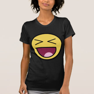 Customize Your Own: Awesome Laugh Smiley Face Tshirt