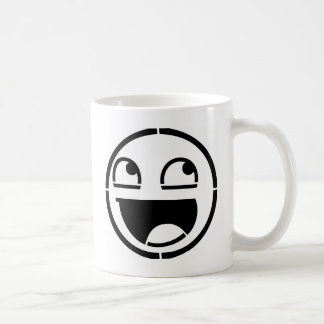Customize Your Own: Awesome Smiley Face Stencil Coffee Mug