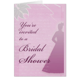 Customize your own bridal shower invite