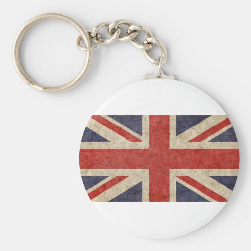 Customize Your Own: British Flag Key Chains