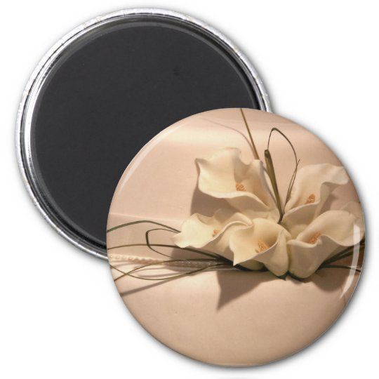 Customize your own calla lily magnet