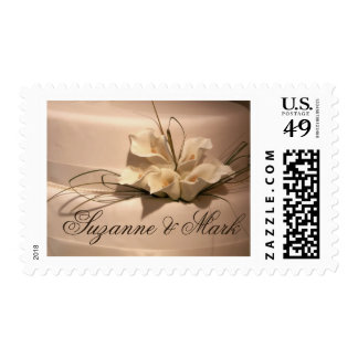Customize your own calla lily stamp
