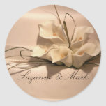 Customize your own calla lily sticker