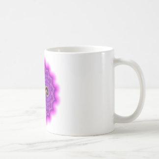 Customize Your Own Chakra Canvas  Crown Chakra Classic White Coffee Mug