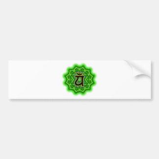 Customize Your Own Chakra Heart Chakra Bumper Sticker
