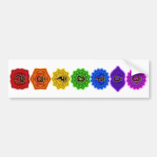 Customize Your Own Chakra Products Bumper Sticker