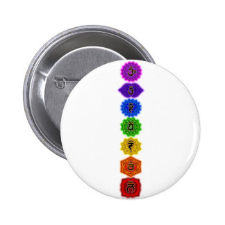 Customize Your Own Chakra Products 2 Inch Round Button