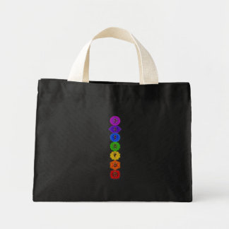 Customize Your Own Chakra Products Mini Tote Bag