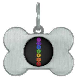 Customize Your Own Chakra Products Pet Name Tag