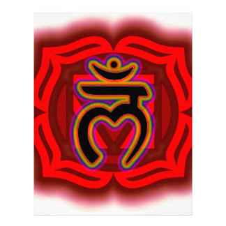 Customize Your Own Chakra Root Chakra Letterhead