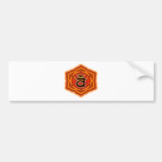 Customize Your Own Chakra  Sacral Chakra Bumper Sticker
