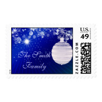 Customize your own Christmas Postage