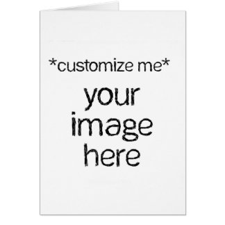 Customize Your Own Design Card