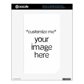 Customize Your Own Design NOOK Color Decals