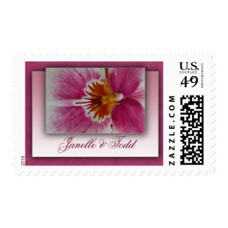 Customize your own floral postage