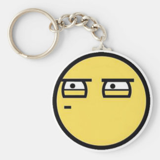 Customize Your Own: Glare Smiley Face Keychain