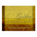 Customize your own Golden Anniversary Postcards