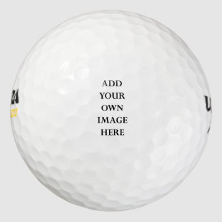 customize your own golf ball portrait pack of golf balls