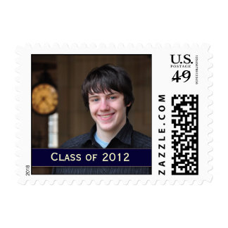 Customize your own Graduation Postage with photo