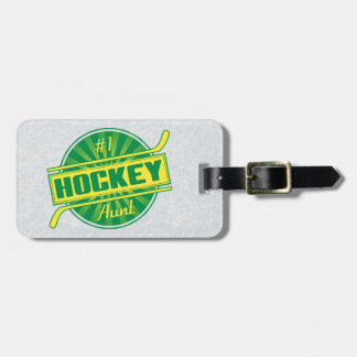 Customize Your Own Hockey Aunt Luggage Tag
