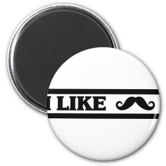 Customize Your Own: I like Stache Magnet