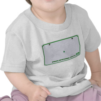 Customize your own Infant/kids License plate shirt