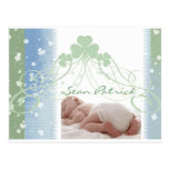Customize your own Irish baby design Post Cards