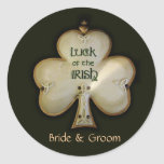 Customize your own Irish Wedding stickers