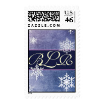 Customize your own monogram postage