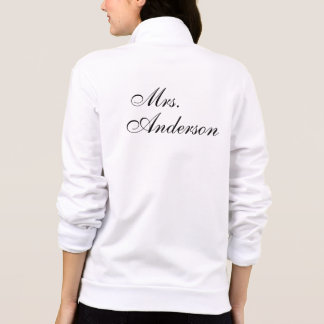 Customize your own name wedding printed jackets