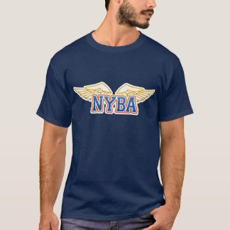 Customize Your Own NYBA Logo Lightwood 89 Apparel T-Shirt