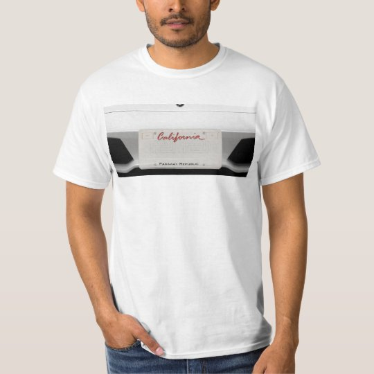 Customize your own Plate T-Shirt