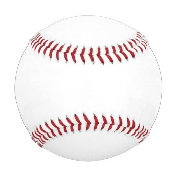 Customize Your Own Regulation Size Baseball by CREATIVESPORTS at Zazzle