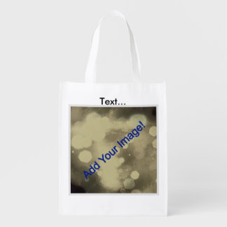 Customize Your Own Reusable Tote Market Totes