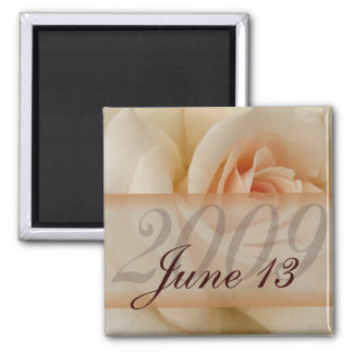 Customize your own save the date magnet